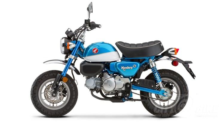 2020 Honda Monkey in Pearl Glittering Blue