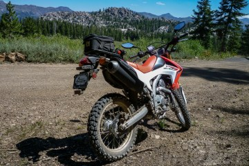 2014 Honda CRF250L project bike.