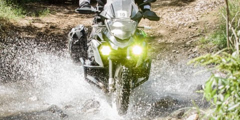 R1200GS Project Bike with Clearwater Lights. Photo: Angelica Rubalcaba.