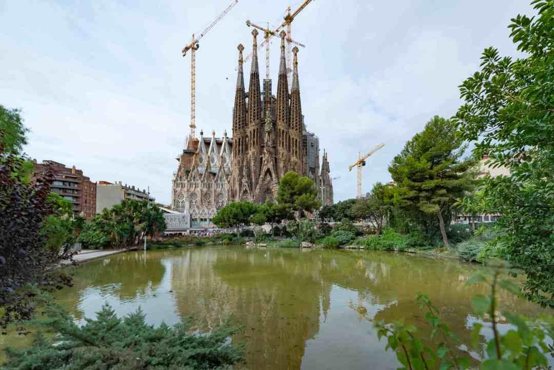 Sagrada Familia Barcelona holiday