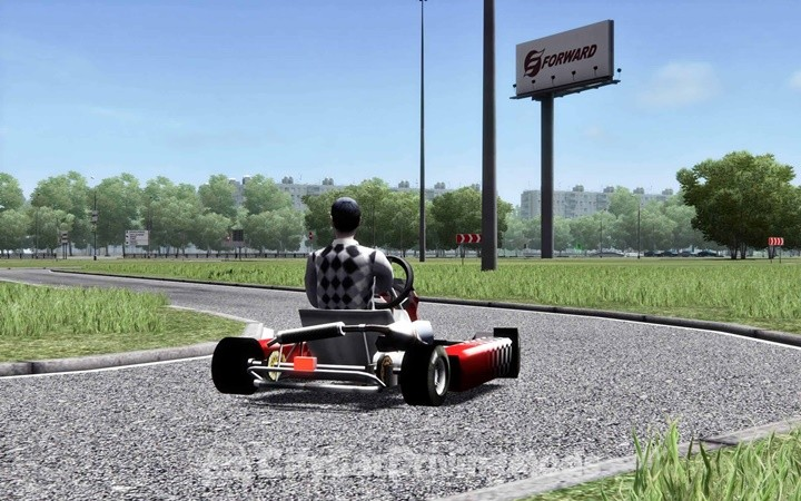go kart city car