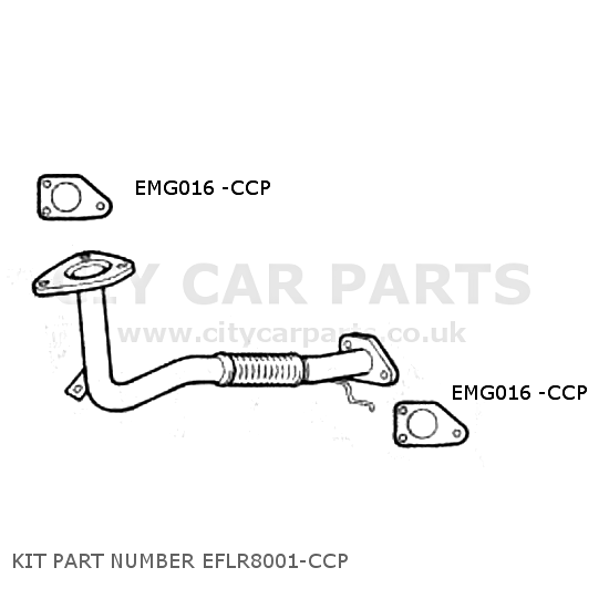 LAND ROVER FREELANDER MK1 2 0TD MODELS 1997 TO 00 EXHAUST