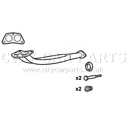 VAUXHALL BEDFORD RASCAL 1 0 MODELS 1986 TO 1993 EXHAUST