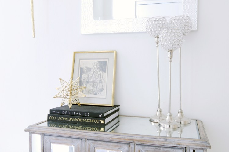 Glam Entryway Feature