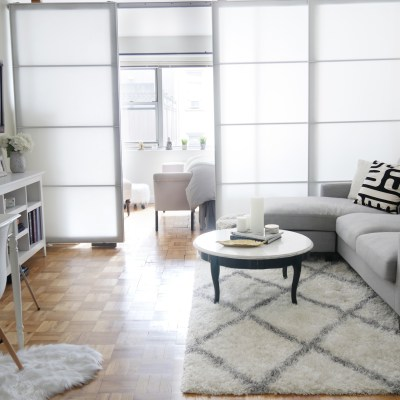 Before/ After: Chic Meets Glam Inside a NYC Studio Apartment