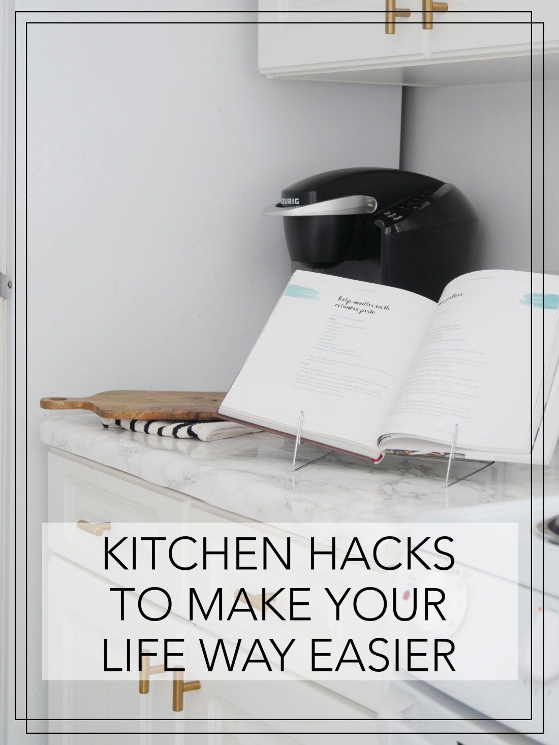 Struggle to cook in a small kitchen? These kitchen hacks will ensure cooking is a breeze in your tiny apartment! #kitchenideas  #smallkitchenideas #kitchenideasonabudget  #rentalhomedecorating  #rentaldecorating #rentalapartmentdecorating