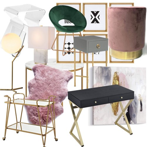 These glam, affordable furniture items from Amazon will blow you & your house guests away. From glam decor to stunning velvet chairs, you'll be shocked with how budget-friendly these things are! #furnituredesign #furnitureideas #affordablefurniture #affordablefurnitureideas #amazon #thingstobuyonamazon