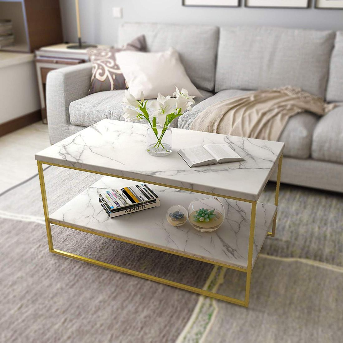 These glam, affordable furniture items from Amazon will blow you & your house guests away. They are also perfect for small spaces! From glam decor to stunning velvet chairs, you'll be shocked with how budget-friendly these things are! #furnituredesign #furnitureideas #affordablefurniture #affordablefurnitureideas #amazon #thingstobuyonamazon #budgetfriendlydecoratingideas