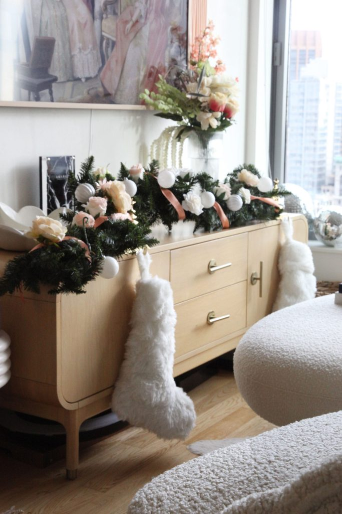 How to Decorate for The Holidays Without a Tree or Fireplace Mantle