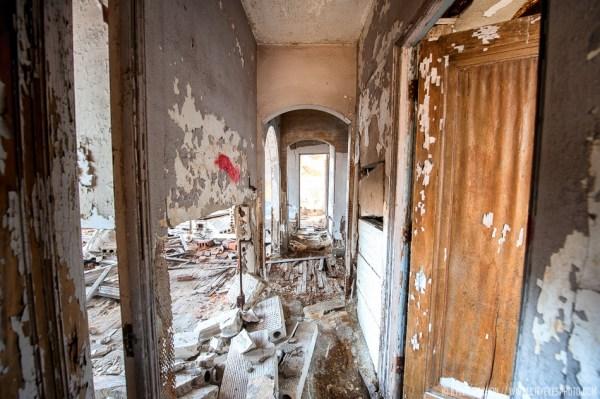 Wrecked Hallway