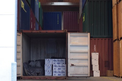 Opbevaring i Container