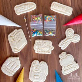Back to School DIY Cookie Decorating Kit