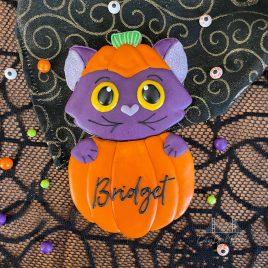 Pumpkin Kitty Set