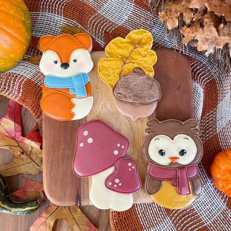 Autumn Woodland Set
