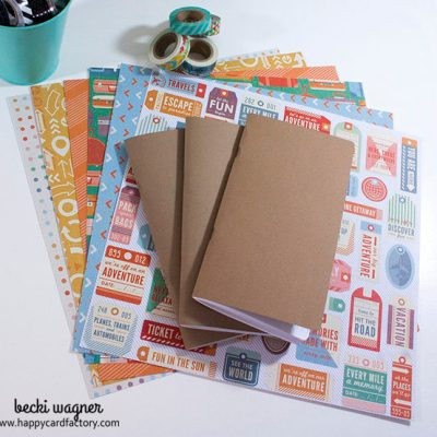 Dress Up Your Traveler's Notebook Inserts!