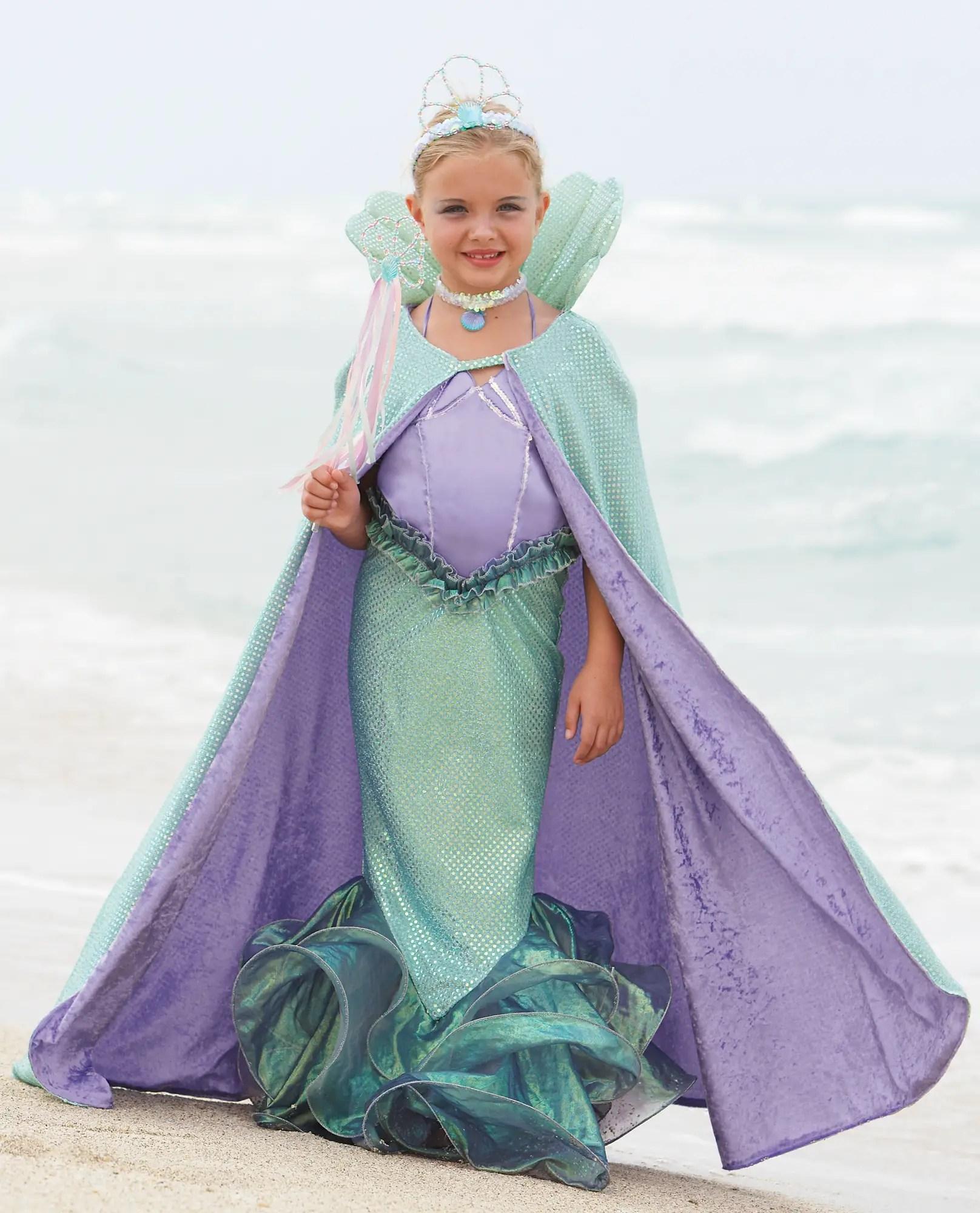 Cape Mermaid Costume