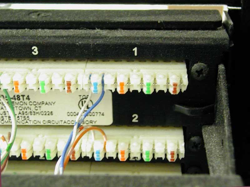110 Block Rj45 Wiring Diagram Voice Networking Equipment