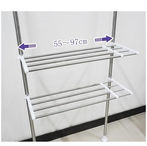 Multi Shelving Rack Silber DQ077726 Waschmaschinenregal