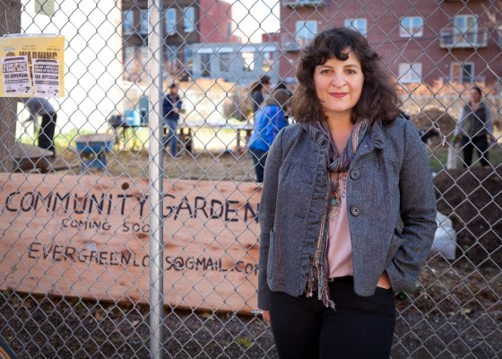 Paula Segal, founder, Executive Director & Legal Director at 596 Acres. Photo credit: Lauren Silberman.