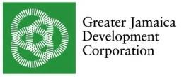 Greater Jamaica Development Corporation logo. Image courtesy of: GJDC.
