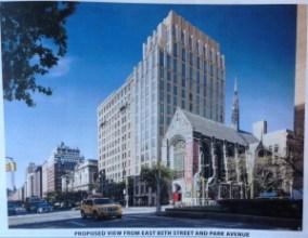 Proposed Rendering of 1010 Park Avenue, Manhattan. Image Credit: LPC.