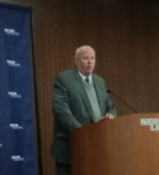 MTA Chairman and CEO Thomas Prendergast addresses the November 2014 CityLaw Breakfast. Image Credit: CityLand