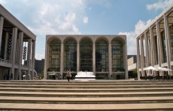 Lincoln Center, with properties valued at $1.1 billion, is exempt from property tax as a cultural institution.  Image credit: Matthew Bisanz
