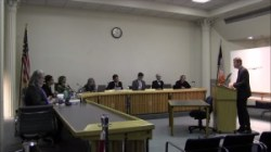 Frank St. Jacques testifies before the Board of Standards and Appeals. Image credit: BSA