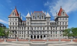 The New York State Capitol building in Albany. Image credit: Matt H. Wade