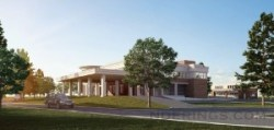 Architect rendering of the proposed facility. Image credit: Rampulla Associates