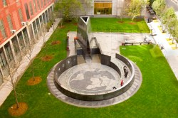 The African Burial Ground Monument. Image credit: National Parks Service