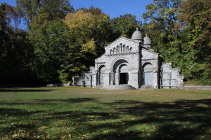 Vanderbilt Mausoleum and Cemetery in New Dorp, Staten Island.