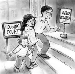 The Right To Counsel For Tenants Who Face Eviction