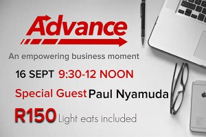 Advance Special Guest Paul Nyamuda