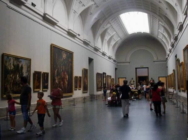 Interior Museo Del Prado Madrid