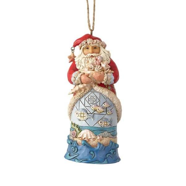 Heartwood Creek Jim Shore Santa Ornament