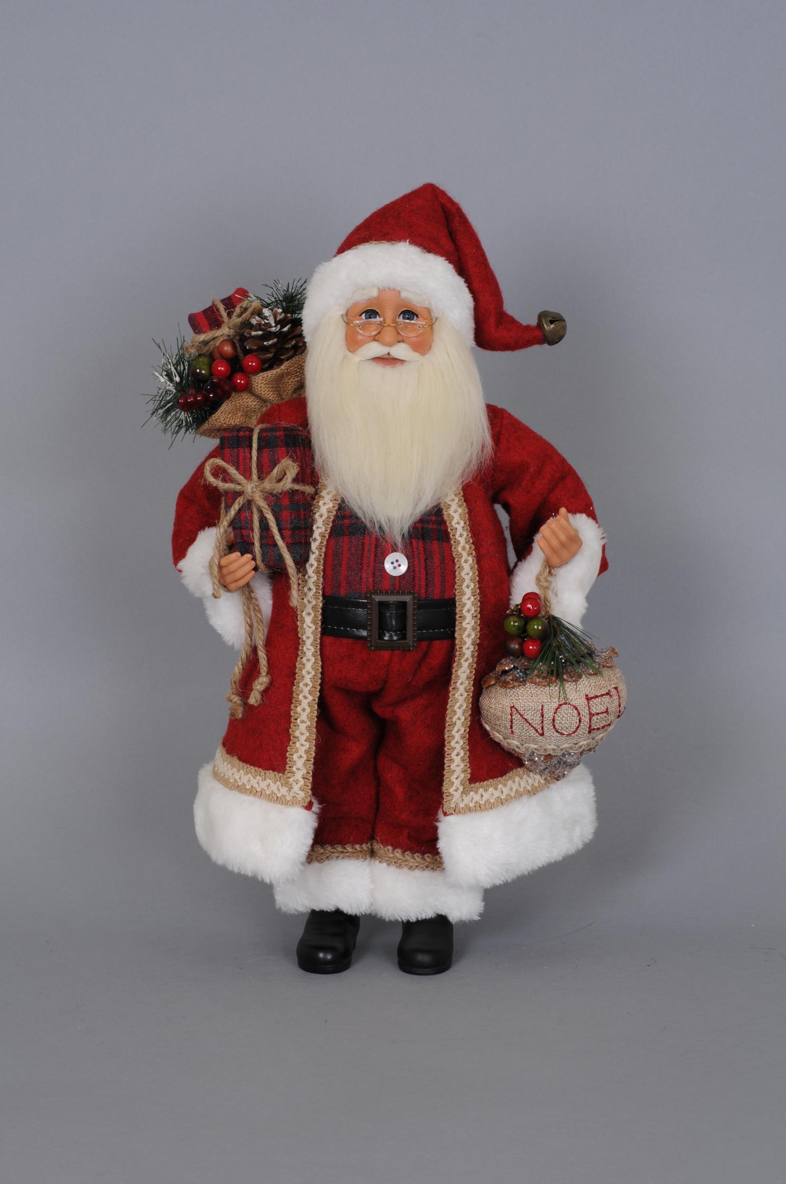 KAREN DIDION ORIGINALS CC16103 Woodland Noel Santa