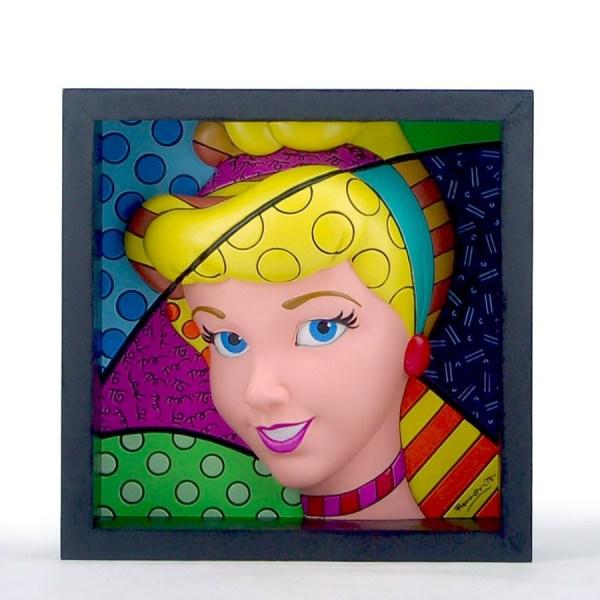 Disney Britto 4033869 Pop Princess - Cinderella Art