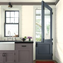 White Kitchen Cabinet Doors Center Island The 4 Trendiest Colours For Re Painting Your There Are Many Companies That Will Spray But This Is A More Expensive Option If You Want To Take On Project