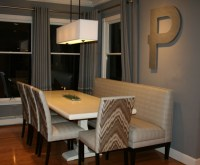 Residential Banquettes-JackieP banquette-Dining Room ...