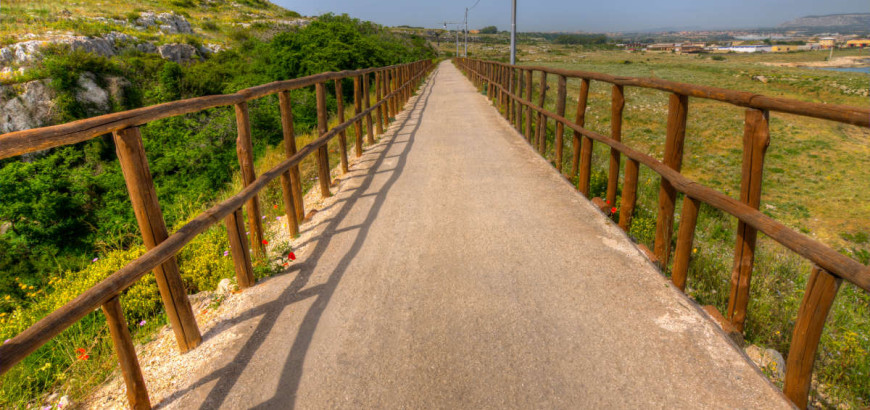 Scopri la pista ciclabile Rossana Maiorca a Siracusa
