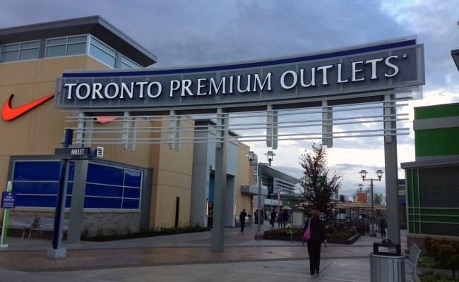 Toronto Premium Outlets Opens In Halton Hills Citynews
