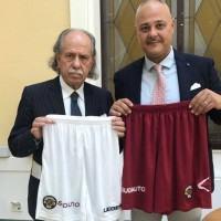 La concessionaria SudAuto di Reggio Calabria sponsor pantaloncino