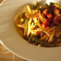Pasta con i fagiolini, un primo piatto della Calabria rurale