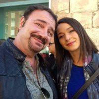 L'attore reggino Saverio Malara nel film 'Calibro 9' con Marco Bocci