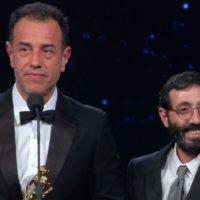 David di Donatello 2019, Borghi 'Miglior Attore'. Marcello Fonte sale sul palco dei vincitori