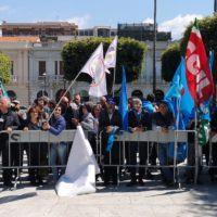 Manifestazione nazionale Cgil, Cisl e Uil: a Reggio Calabria un evento storico