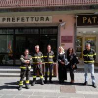La protesta dei Vigili del fuoco Calabria non si arresta