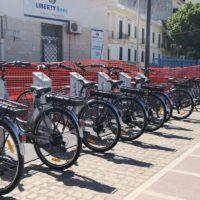 Inaugurazione servizio bike sharing, Latella:
