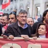 Manifestazione Cgil a Reggio, Palmenta e Malara: